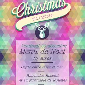 Vendredi 20 décembre 2013 - Repas de Noël !!!