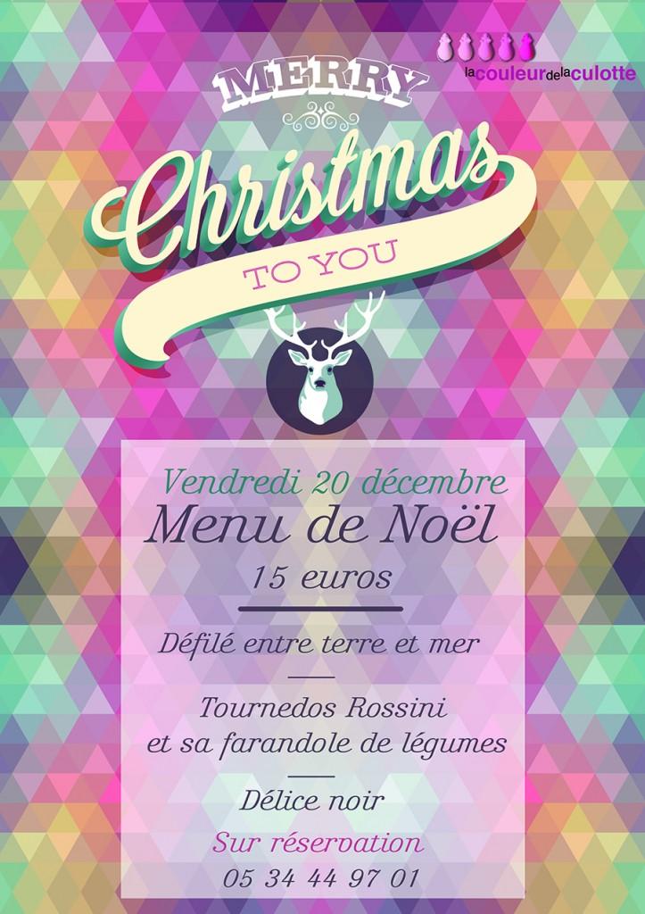 Repas de Noël - Vendredi 20 décembre 2013