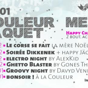 A partir du 21 décembre 2013 - La Couleur met le paquet !!!