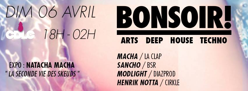 Dimanche 6 avril 2014 - BONSOIR!