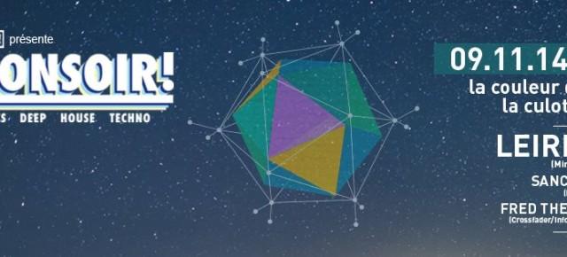Dimanche 09 Novembre - BONSOIR! - Leiris (MiniBar-Music)