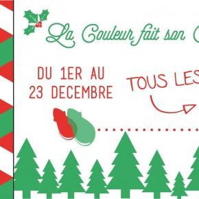 Du 1er au 23 Décembre - La Couleur fait son Calendrier de Noël!