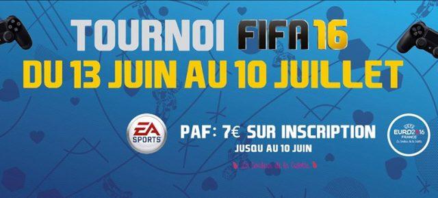 Tournoi FIFA PS4 du 13 Juin au 10 Juillet