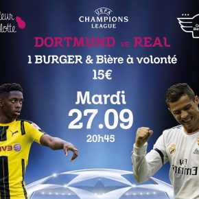 Mardi 27 Septembre - Dortmund VS Real Madrid