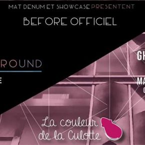 "Vendredi 14 Octobre - BEFORE ""I miss underground"""