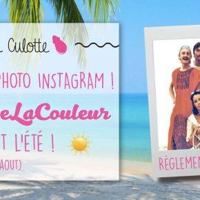 Concours Instagram - Pendant tout l'été!