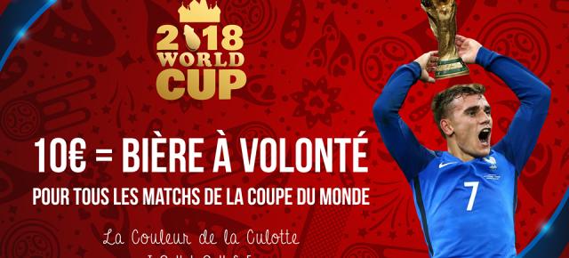 MONDIAL 2018 - Offre spéciale pour tous les matchs du Tournoi!