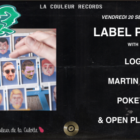 VENDREDI 20 SEPTEMBRE - Label Party #1 (Saison 02)