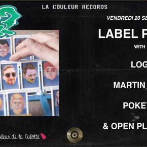 VENDREDI 20 SEPTEMBRE - Label Party #1 (Saison 02)